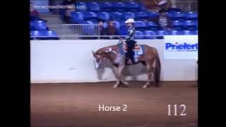 Western Pleasure Horse Judging Practice
