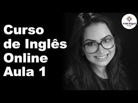 CURSO DE INGLÊS ONLINE - AULA 1