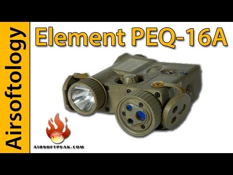 Freakin' Laser Beams | PEQ-16A Review | Airsoftology