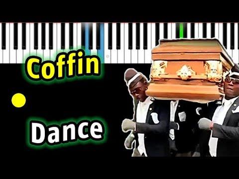 МЕМ: Танец с гробом | Coffin Dance (Tony Igy -Astronomia) | Piano_Tutorial | Разбор | КАРАОКЕ | НОТЫ