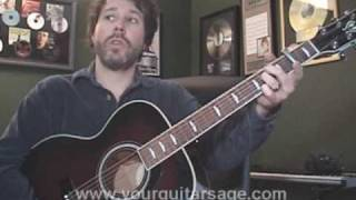 Guitar Lessons - A Woman's Love by Alan Jackson - cover chords Beginners Acoustic songs
