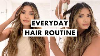 Everyday Hair Routine | Beachy Waves