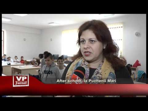 After school, la Puchenii Mari