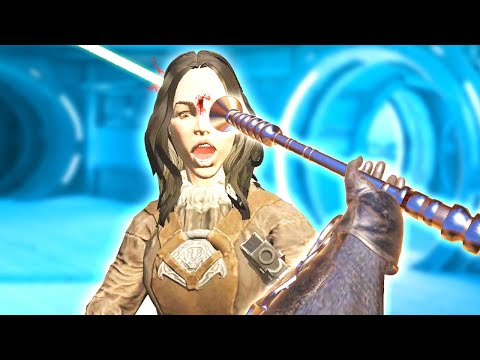 HORRIFYING AND DEADLY LIGHTSABER PIKE in Blades and Sorcery VR Mods