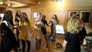 Miss Supranational 2014 Contestants Singing and Dancing
