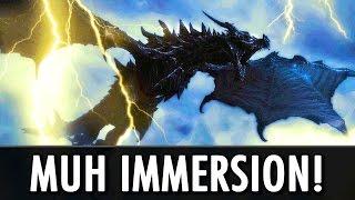 Skyrim Mods: Muh Immersion!