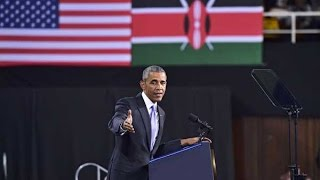 Obama in Kenya: President Barack Obama