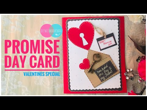 Promise Day Card Making