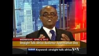 Tedla Asfaw Ethiopian Human Rights Activist On Straight Talk Africa