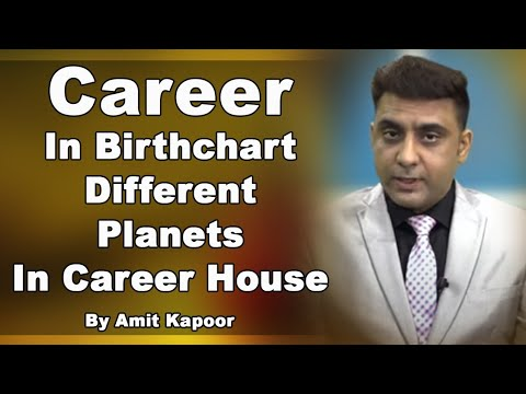 Career In Birthchart | Different Planets In Career House [IN HINDI] | Astrology With #AMITKAPOOR