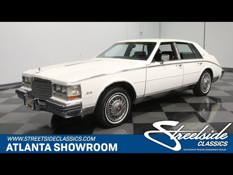 Video of 1985 Seville Offered by Streetside Classics - Atlanta - Q3ZM