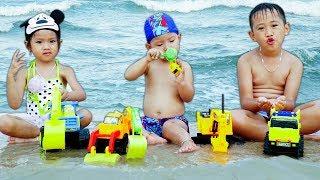 Trò Chơi Bé Đi Thám Hiểm Tắm Biển Vịnh Hạ Long - Bé Nhím TV - Đồ Chơi Trẻ Em Thiếu Nhi