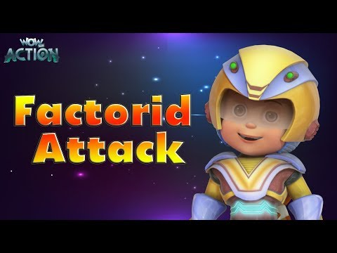Hindi Cartoons for kids | Vir: The Robot Boy | Factroid Attack | WowKidz Action