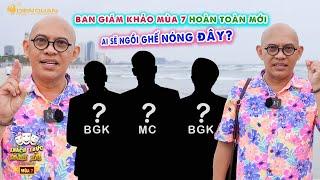 Thách thức danh hài 7 | Color Man tiết lộ BGK & MC sẽ thay đổi 100%, danh hài nào sẽ ngồi ghế nóng?