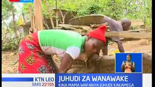 Majukumu ya kina mama kutoka sehemu za kuzaga dhahabu maeneo ya machimboni ya Rosterman-Ikolomani