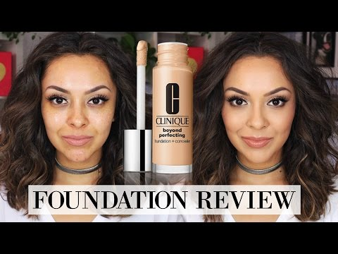 Clinique Beyond Perfecting Foundation + Concealer Review - TrinaDuhra