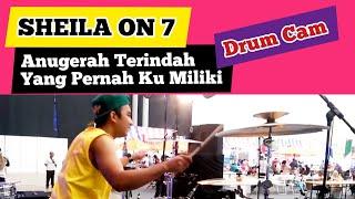 Sheila On 7 - Anugerah Terindah Yg Pernah Ku Miliki - Cover - Rendy Suryadi [Drum Cam]