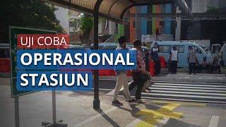 Uji Coba Operasional Stasiun Tanah Abang, Pemprov DKI: Semoga Tak Ada Kemacetan Lagi