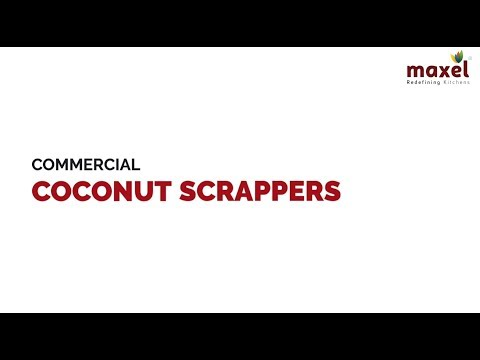 LEP211 Commercial Coconut Scrapper