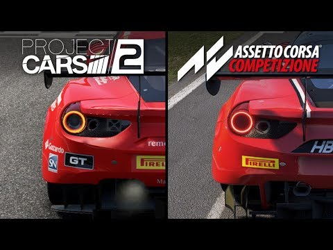 Assetto vs Project Cars 2 | Graphic Comparison :: Assetto