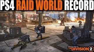 THE DIVISION 2 PS4 RAID WORLD RECORD RUN | OPERATION DARK HOURS