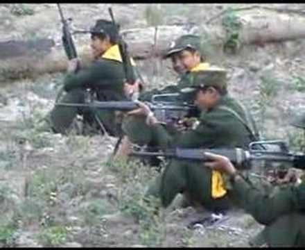 shan music with shan state  army