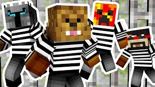 YOUTUBER COPS AND ROBBERS HIDE AND SEEK MOD - Minecraft Mod (FUNNY MOMENTS)