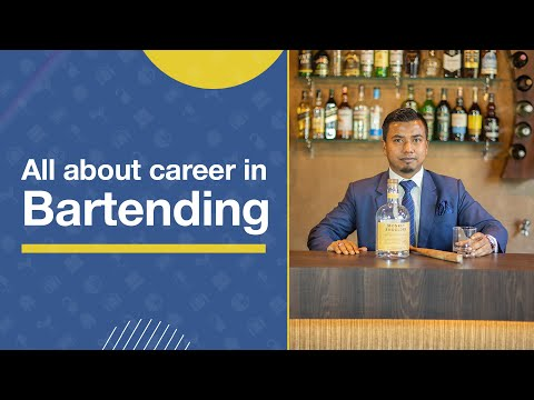 Career opportunities in Bartending | How to become a successful Bartender