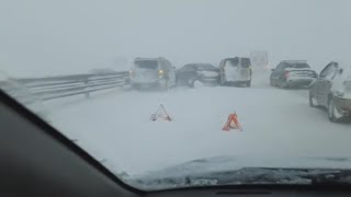 Крым аварии 13 февраля апокалипсис на дороге дтп