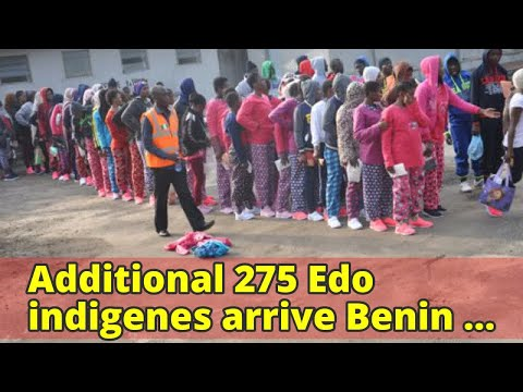 Additional 275 Edo indigenes arrive Benin from Libya