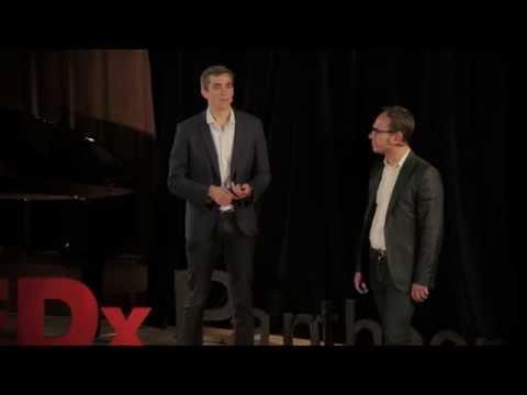 TEDxPanthéonSorbonne Etre plus heureux grâce aux technologies François Renon & Quentin Despas