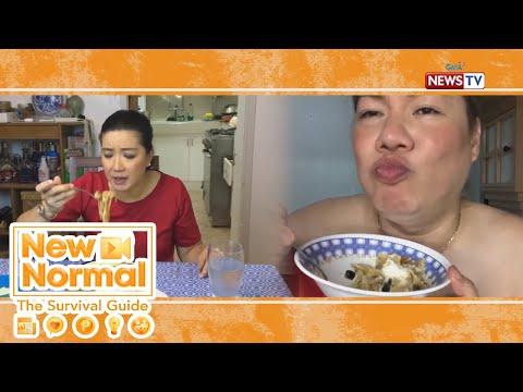 [GMA]  Bright Side: Spanish sardines pasta ala Kara David and Tetay! | New Normal