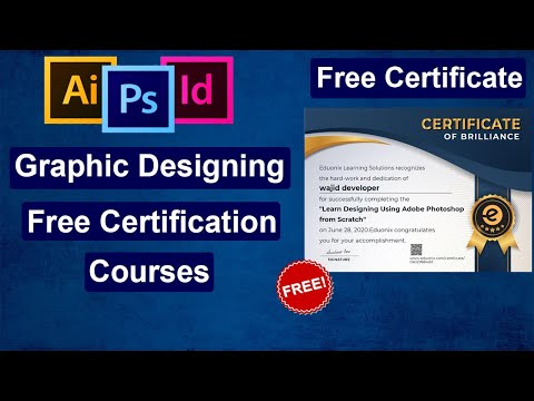 Graphic Design Free Course With Certificate | Adobe Photoshop ...