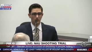 MUST WATCH: NAU Shooting Suspect STEVEN JONES Testifies and Claims Self-Defense During Trial (FNN)