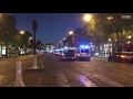 Fusillade sur les Champs-Elysées : les premières images