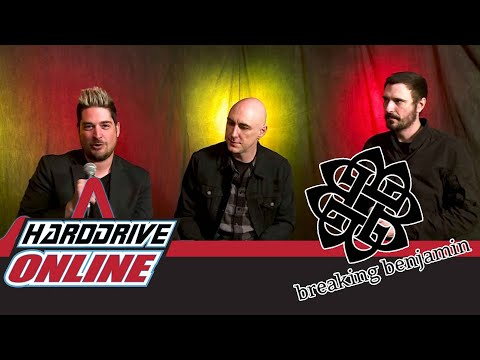 BREAKING BENJAMIN Talk Writing 'RED COLD RIVER,' Releasing 'EMBER,' And Virtual Reality Gaming! - HardDrive Radio