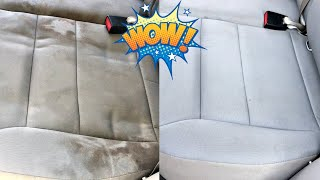 How to Clean Car Seats at Home using a Bissell SpotClean Pro Portable Cleaner
