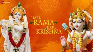 Hare Rama Hare Krishna | हरे राम हरे कृष्ण | Zee Music Devotional | Krishna Bhajan With Lyrics