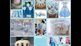 DIY Cinderella Birthday Party Decorating Ideas