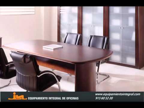 Mesas de reunión en Madrid - Equipamiento Integral de Oficinas