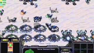 스타크래프트 유즈맵 드라군1000부대 막기 뉴버전 클리어가능 (StarCraft Use Map Setting DraGoon Defence)