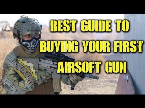 Jakou vybrat první airsoftovou zbraň?