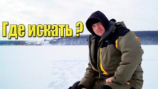 Места для ловли леща зимой