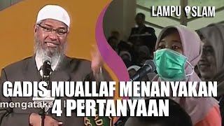 Video Gadis MUALLAF AJUKAN 4 PERTANYAAN SEKALIGUS | Dr. Zakir Naik UMY Yogya 2017 MP3, 3GP, MP4, WEBM, AVI, FLV September 2019