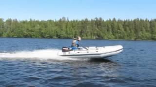 Лодка ПВХ Фрегат 370 PRO от компании Интернет-магазин «Vlodke» - видео