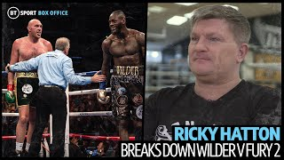 """""""I was like, what are you doing?!"""" Ricky Hatton details what it was like in Fury's corner vs Wilder"""
