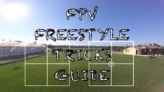 """FPV FREESTYLE TRICKS GUIDE // ImpulseRC Alien 5"""" // Mode2 // FPV TUTORIAL"""