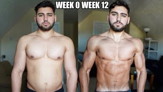 Natural 12 Week Body Transformation | 5 Steps to Lose Fat