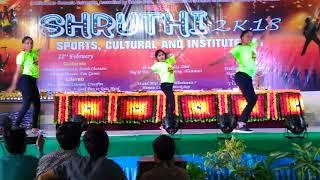 CBIT Shruthi 2k18 FOXTROTS Dance Performance