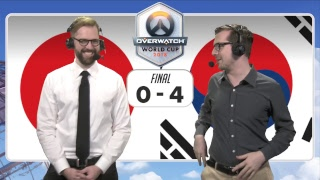 Overwatch World Cup Korea 2018 - Day 2